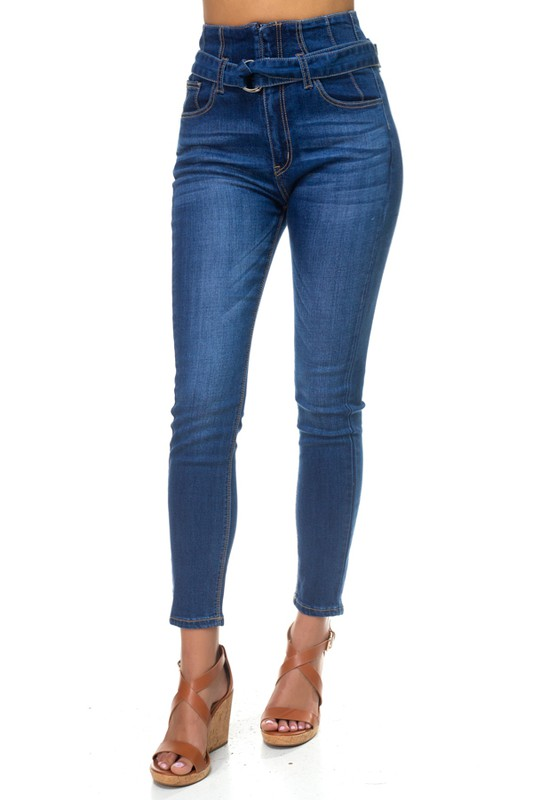 Apple Tree Apparel Paper Bag Jeans front view
