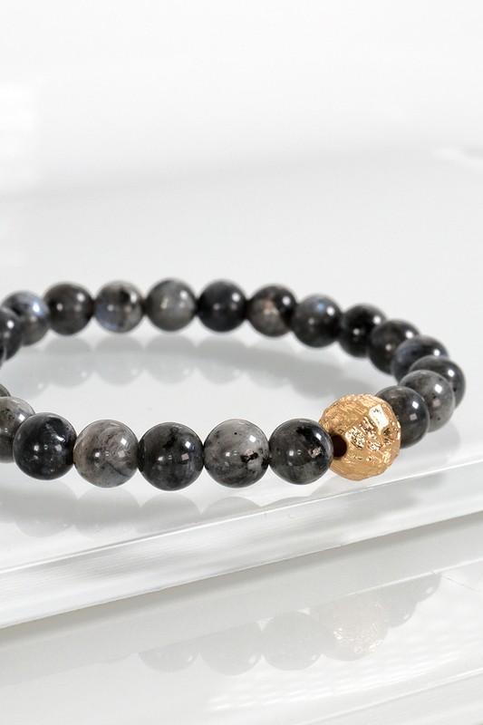 Urbanista Stone Stretch Bracelet Dark Grey