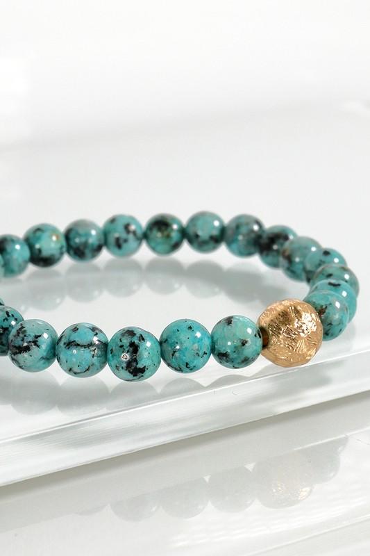 Urbanista Stone Stretch Bracelet Turquois
