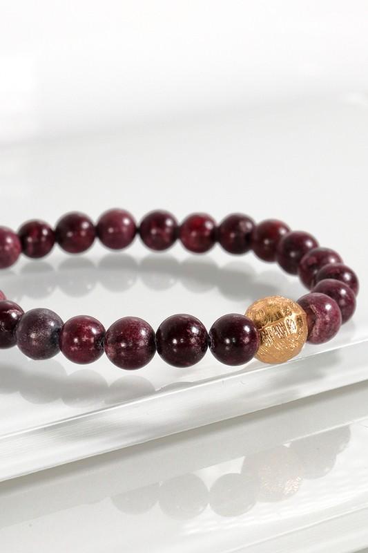 Urbanista Stone Stretch Bracelet Wine